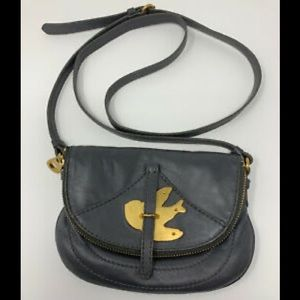Marc by Marc Jacobs charcoal cross body